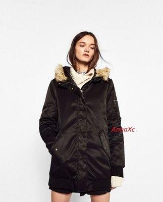 U06rd Kurtka Parka Czerwona Zimowa Futerko Plaszcz 3654356216 Oficjalne Archiwum Allegro Asian Fashion Fashion Coat