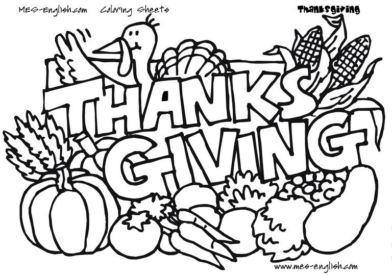 217 free printable thanksgiving coloring pages
