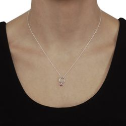 @Overstock - sterling silver and birthstone pendant. 18-inch cable chain.http://www.overstock.com/Jewelry-Watches/Tressa-Sterling-Silver-Synthetic-Birthstone-Charm-Necklace/84583/product.html?CID=214117 $10.55
