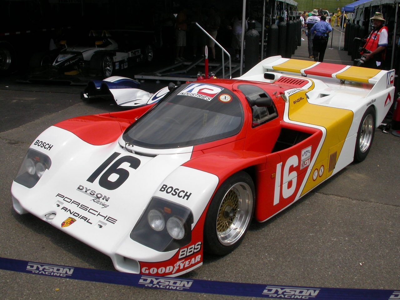RaceCarAds - Race Cars For Sale » PORSCHE-KREMER CK5   Steel ...