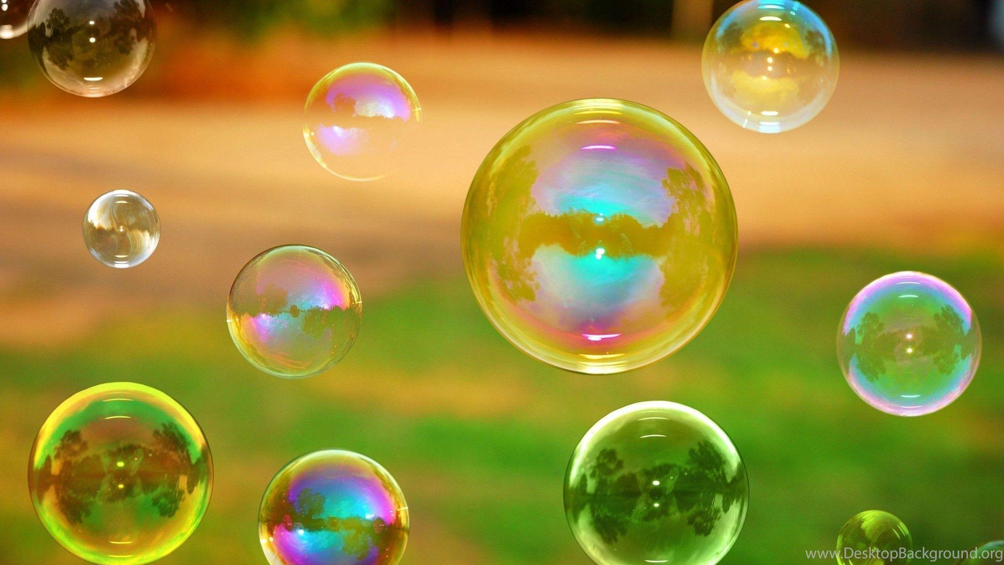 Картинки мыльные пузыри на рабочий стол