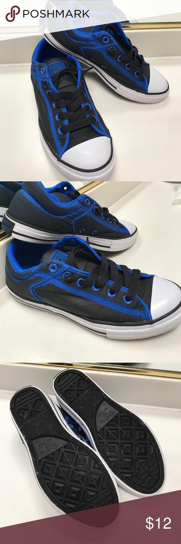 c75c0f60e74e Boys Converse Sneakers Like new!!! boys converse sneakers slip on ...