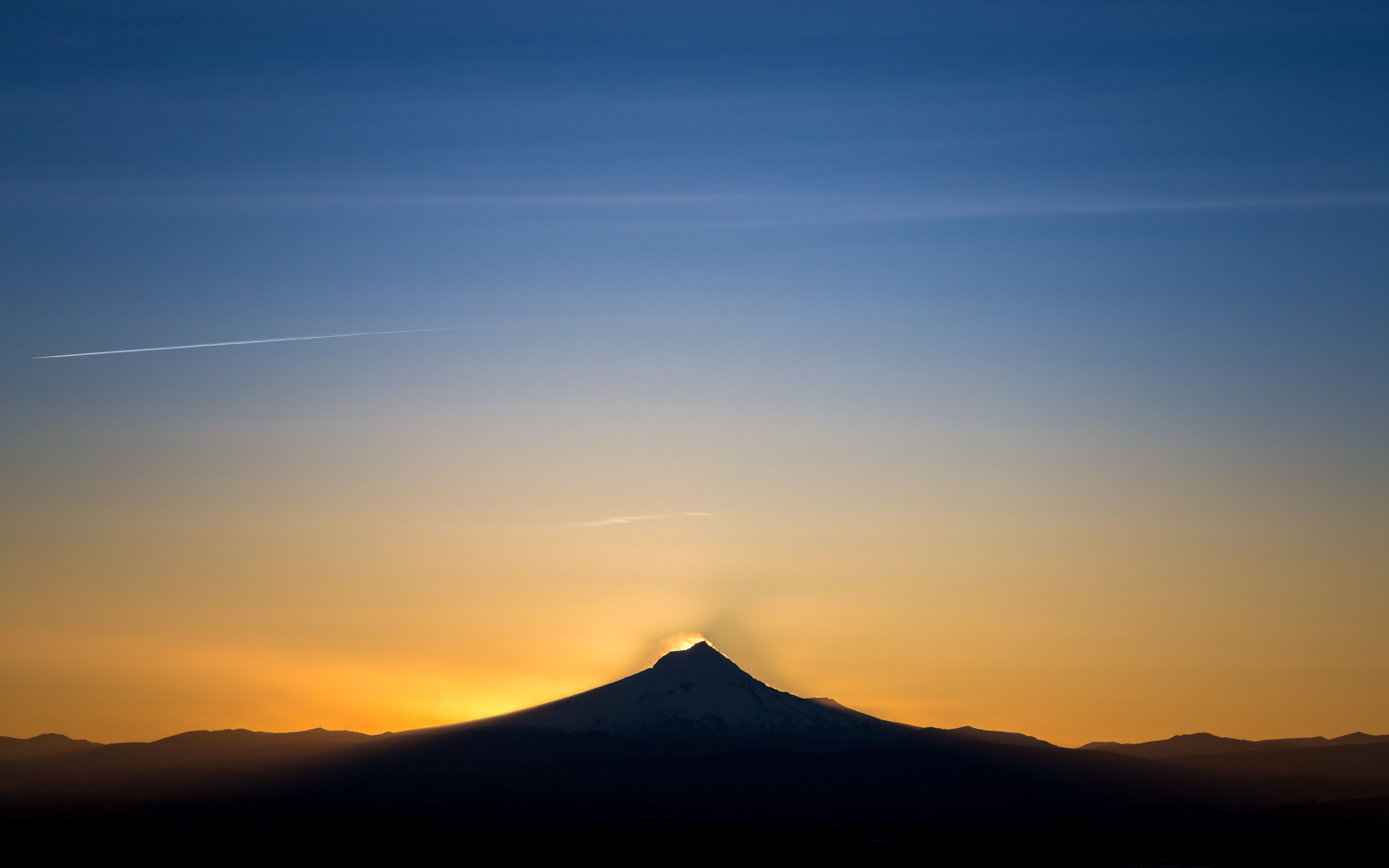 Landscape, Mountain, Sunset Wallpapers HD / Desktop And
