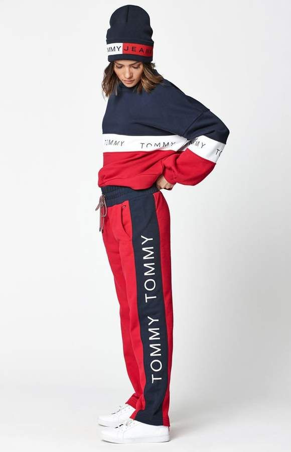 6163ee31fa5e5 Tommy Hilfiger Straight Leg Jogger Pants | Tommy Hilfiger in 2019 ...