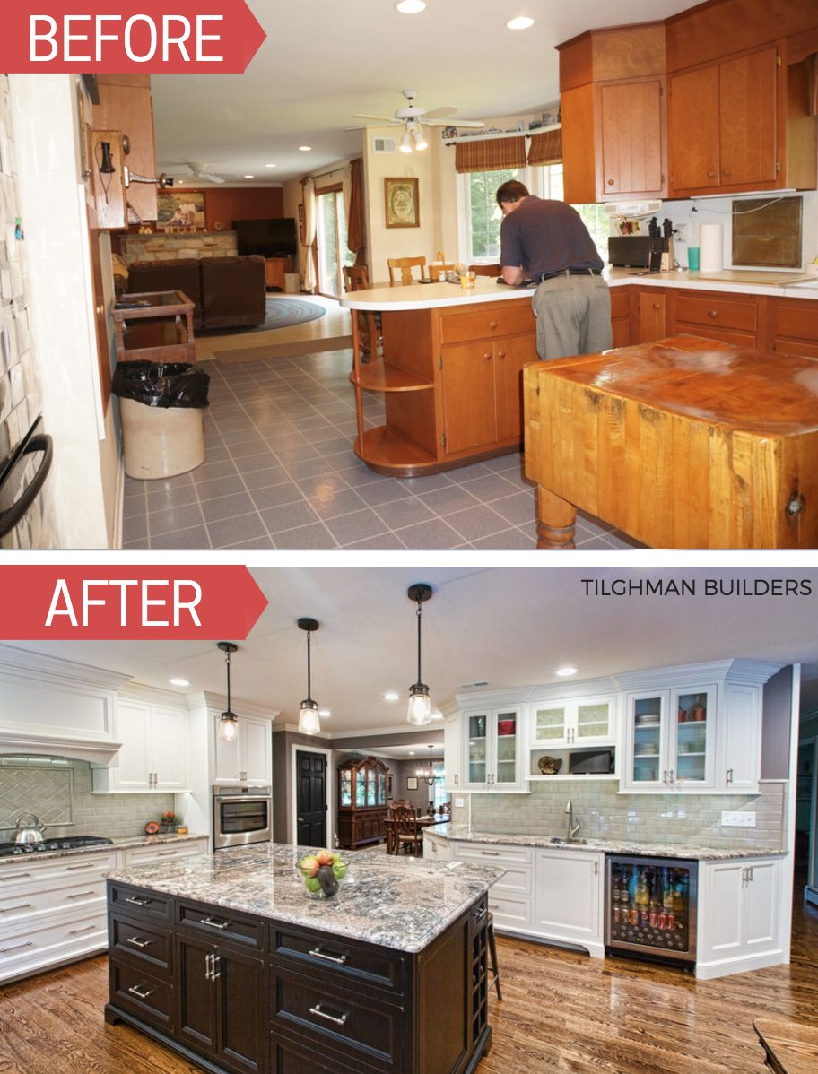 Whats The Difference Between A Renovation And A Remodel Kitchen Remodel Bucks County Remodel Tilghman Builders Kitchendesign Kitchenideas