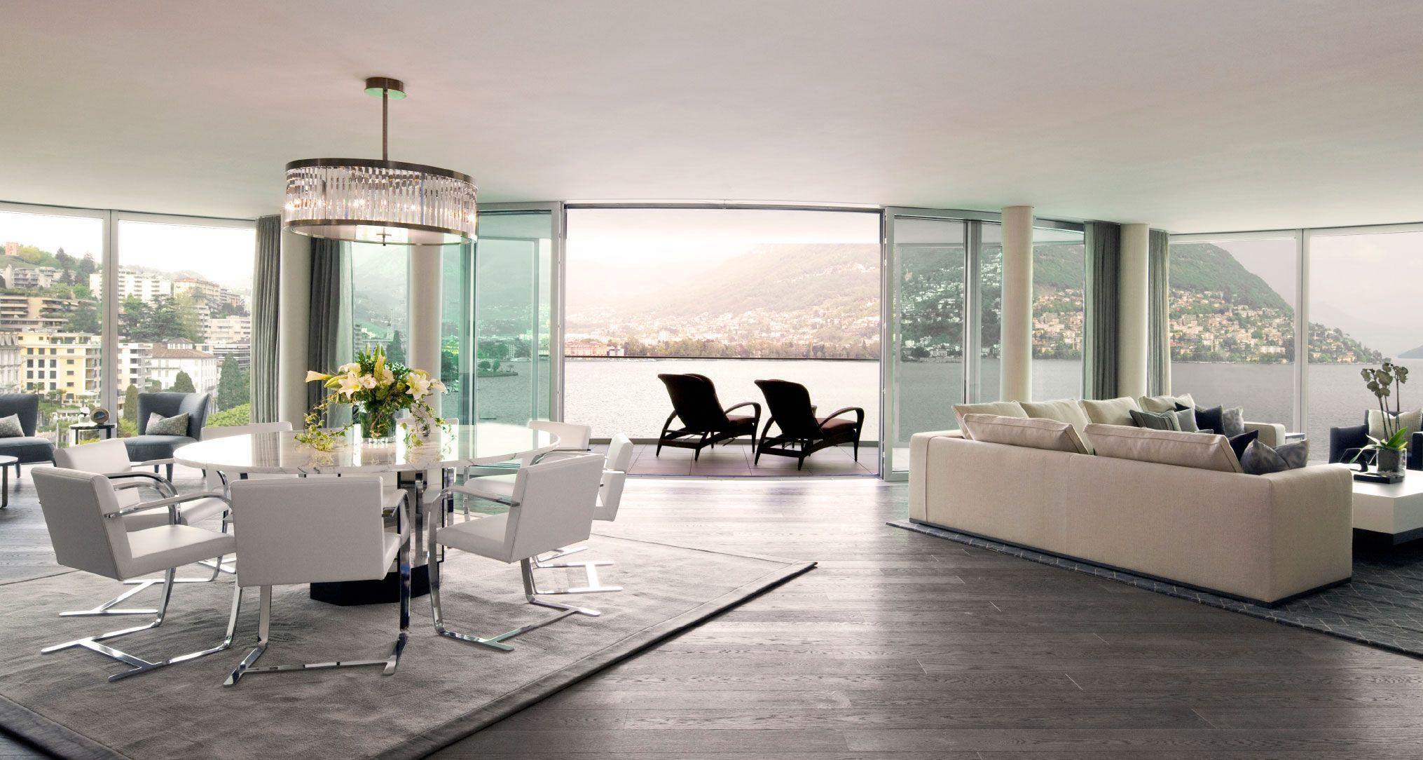 Home interior design gurgaon stunning lakeside luxury apartment by finchatton interior design