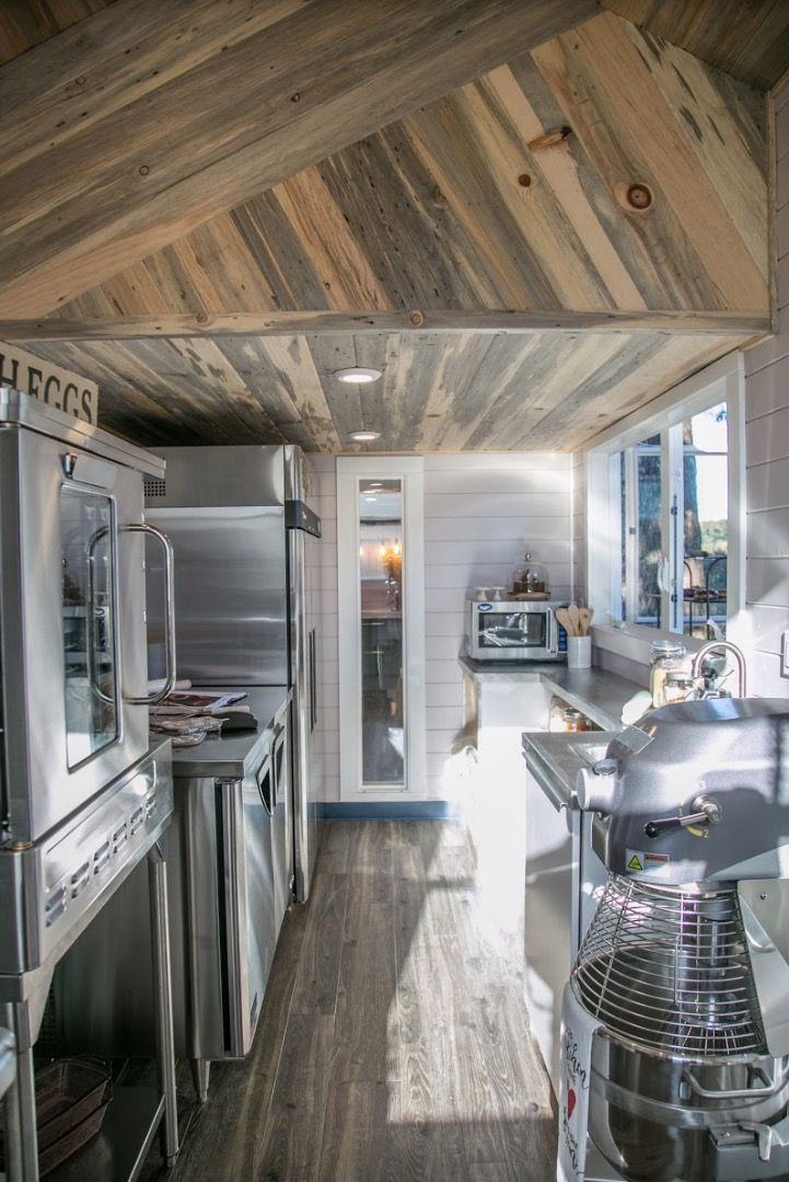 Small House Interior Design Kitchen: 275 Sq. Ft. TINY HOUSE With Separate INDUSTRIAL Kitchen