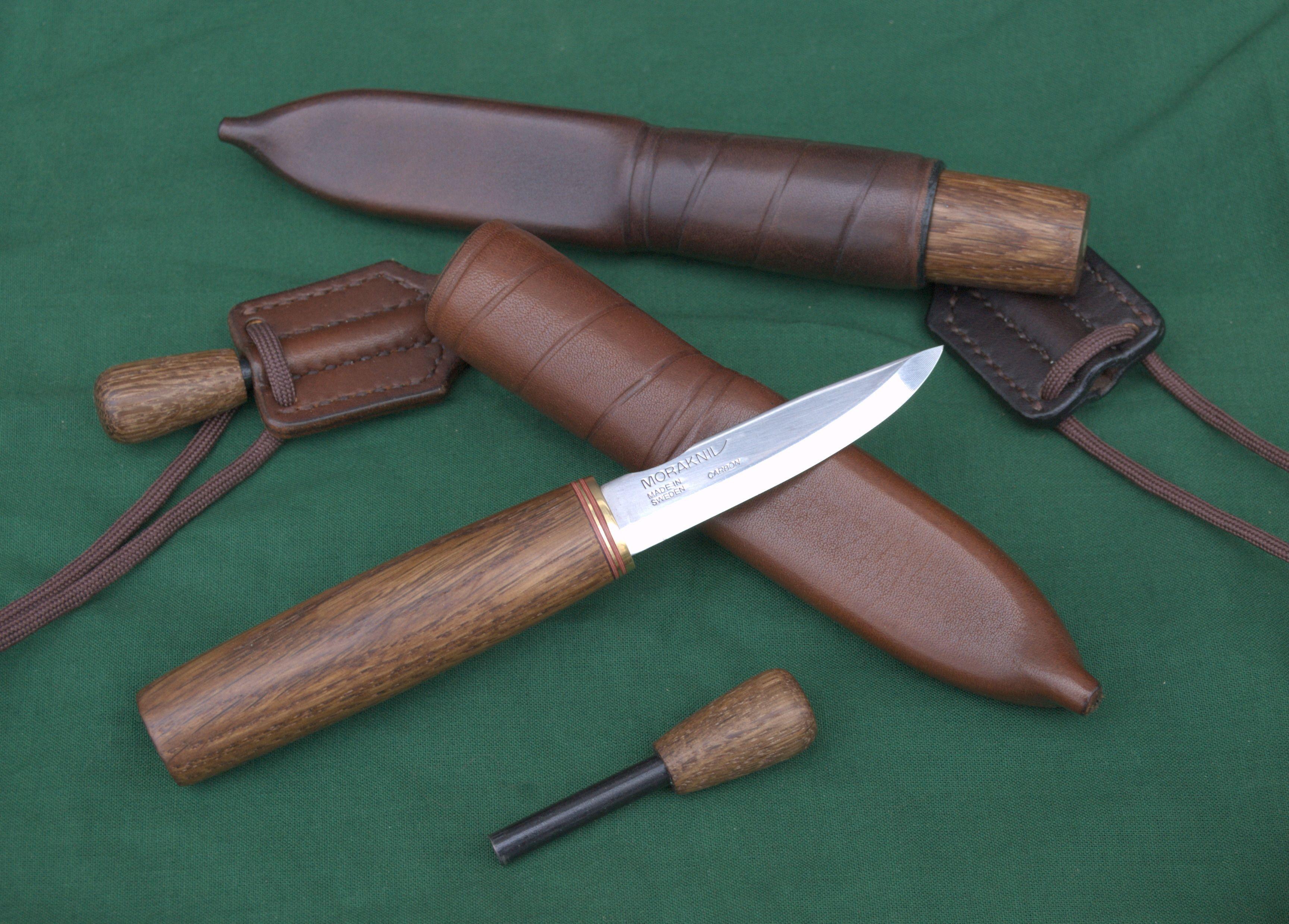 Morakniv 2 0 Blade With Fumed Oak Handle Firesteels And Nordic