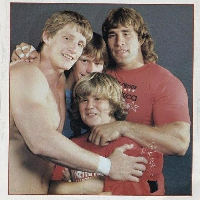 Kevin, Mike, Kerry And Chris Von Erich