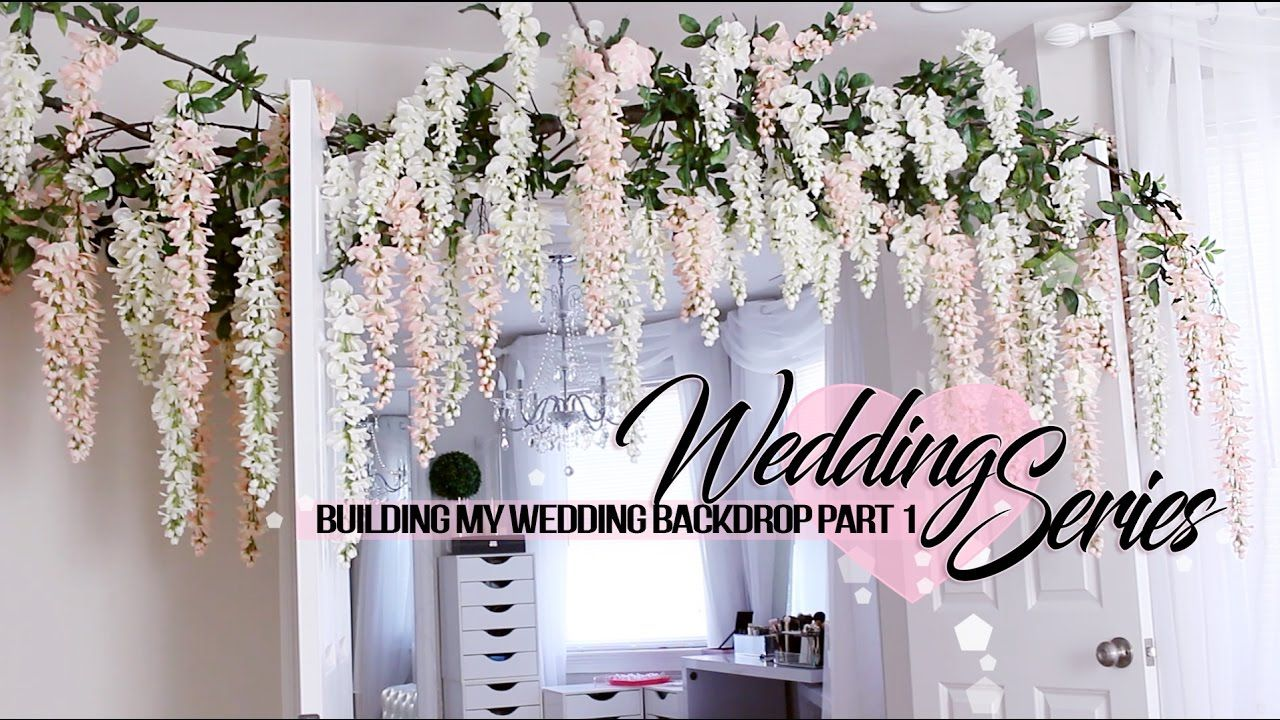 Wedding decorations at home  Okay my babes so let the wedding serie begin  As we cross
