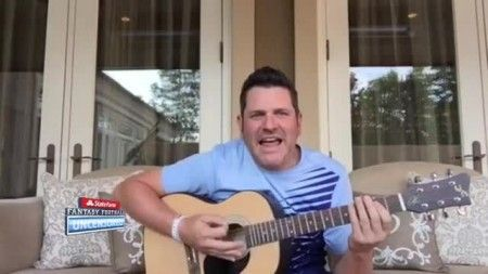 Jay Demarcus sings the blues after losing to Nick Swardson