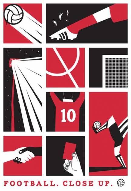59 new ideas for sport poster soccer graphic design #sport