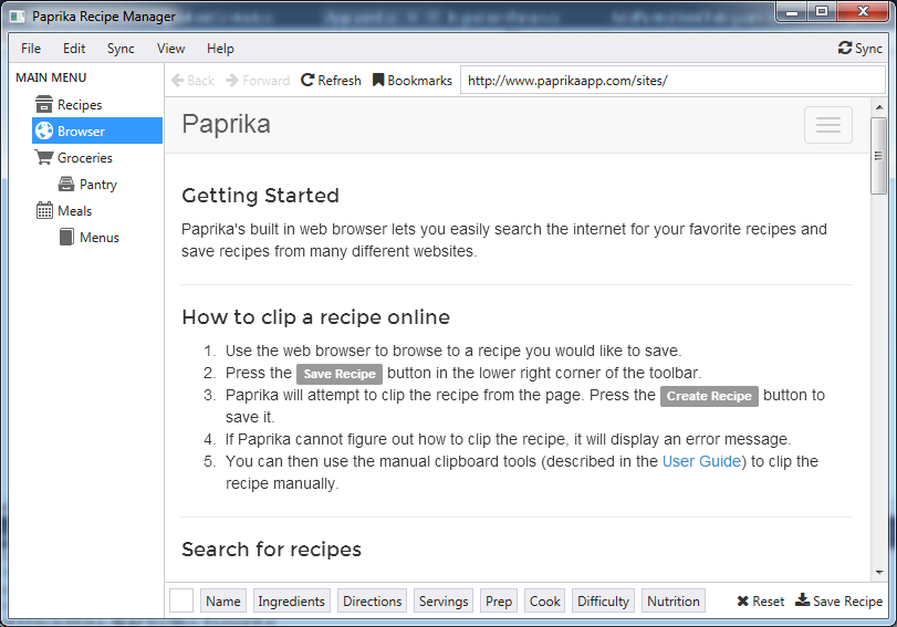 Paprika Recipe Manager for Windows (With images) Paprika