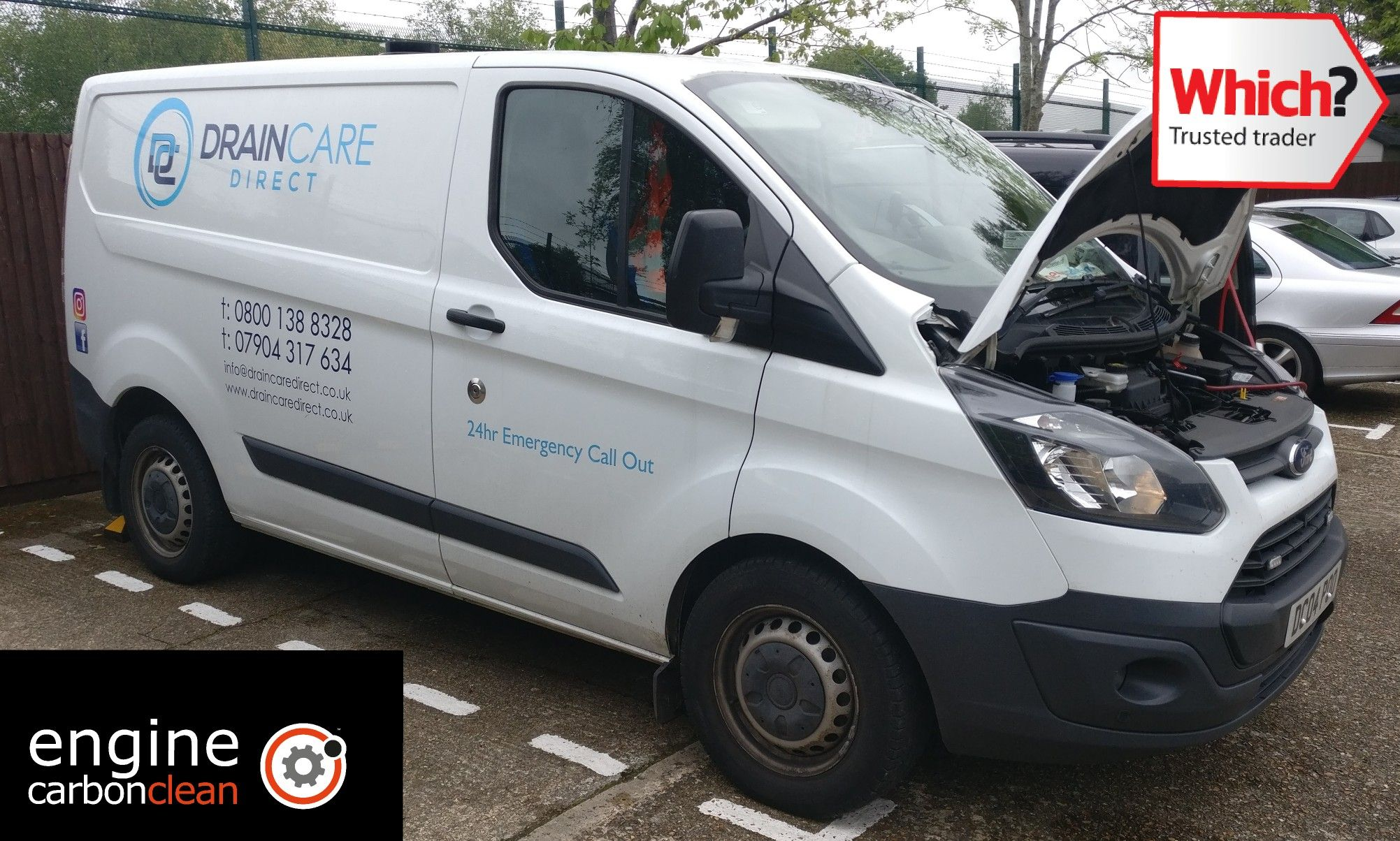 Called To Do Our Which Trusted Traders Approved Engine Carbon Clean With Diagnostics To Check That The Engine In Good Transit Custom Ford Transit Engineering