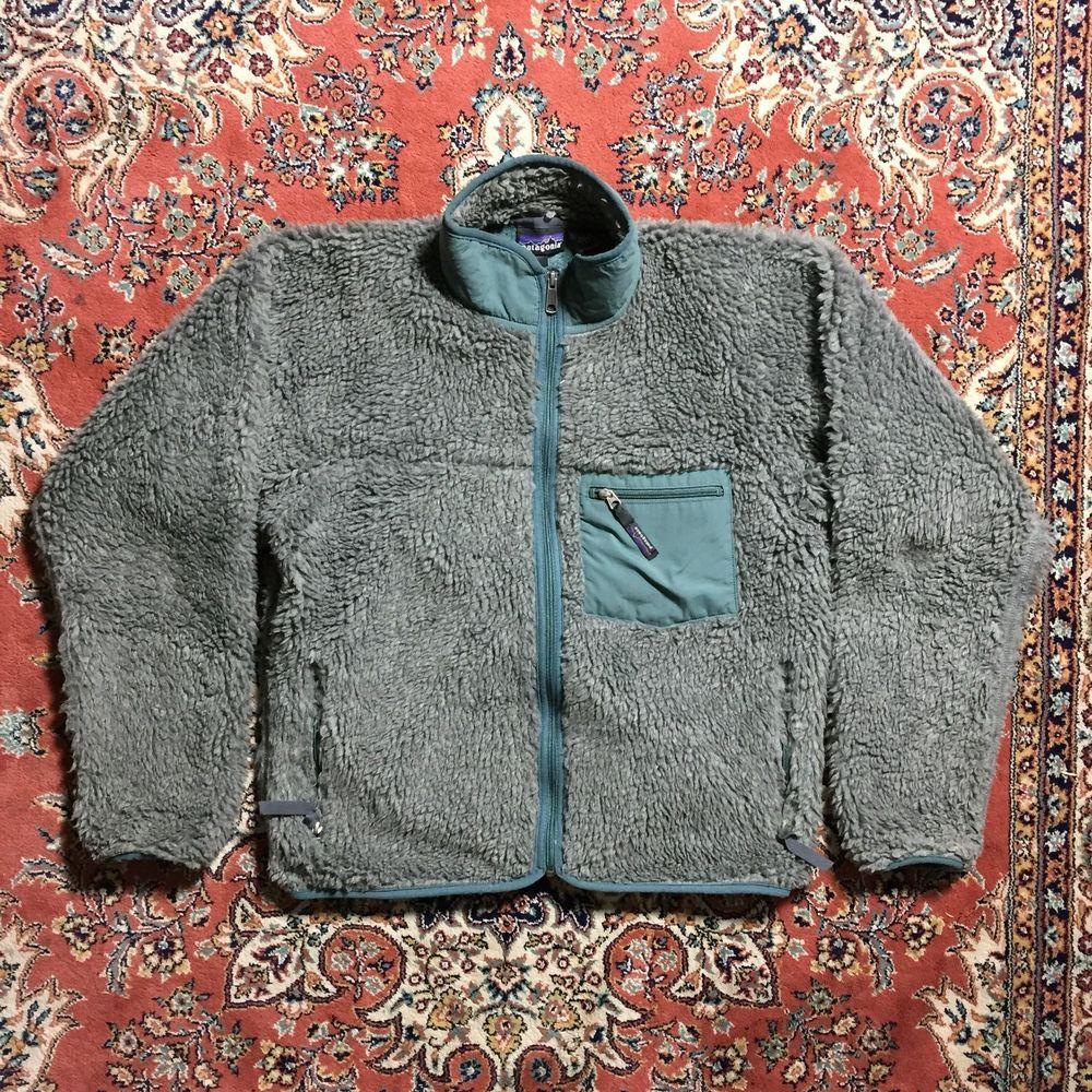 Vintage patagonia fall deep pile retro x fleece jacket sherpa