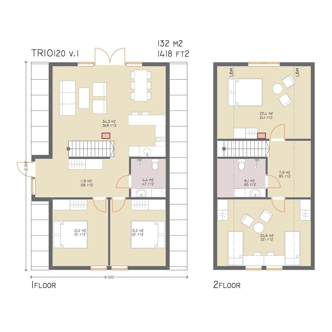 A-frame Home Kits — A-frame homes | a frame cabin | Pinterest ...