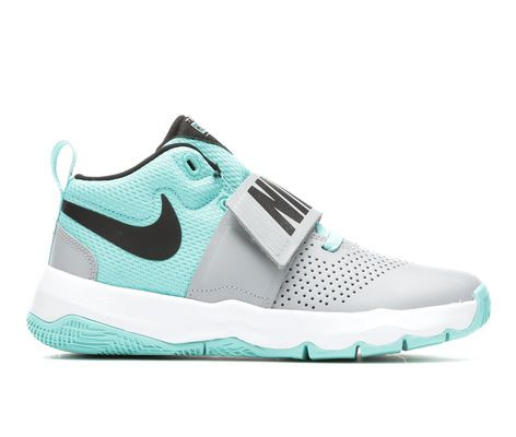 0390a91c884 Girls  Nike Team Hustle D8 Girls 3.5-7 Basketball Shoes