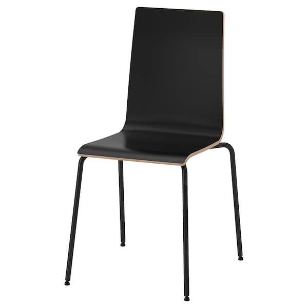 silla negra oficina ikea
