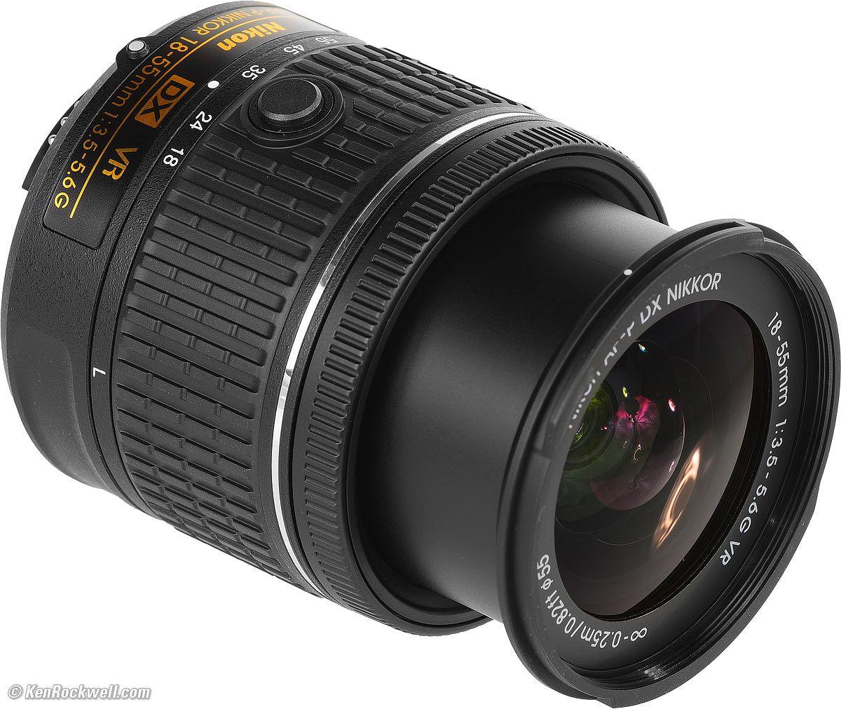 Af P Dx Nikkor 18 55mm F 3 5 5 6g Vr Nikon Lens Computer Reviews