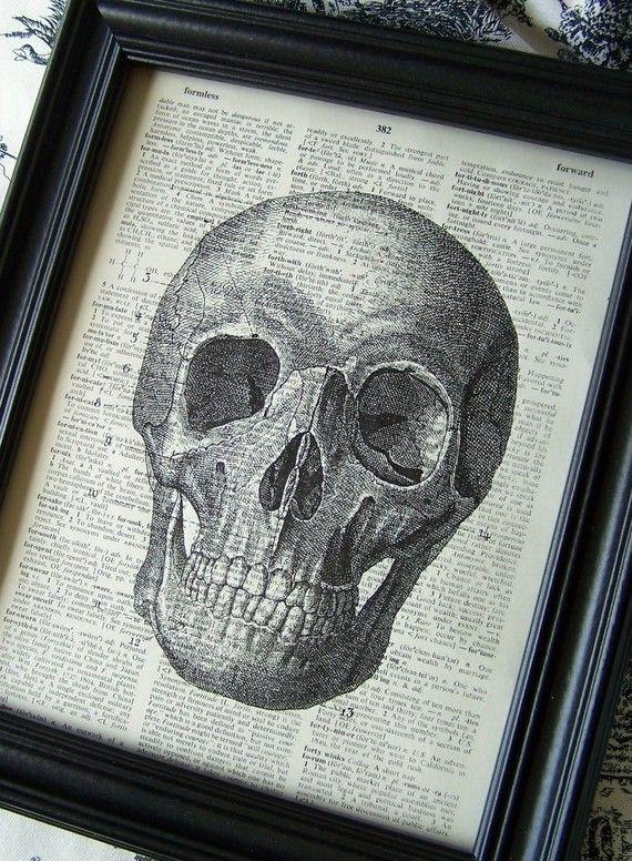 Schädel, Anatomie, Kopf, Skelett, Knochen, Zähne, Steampunk ...
