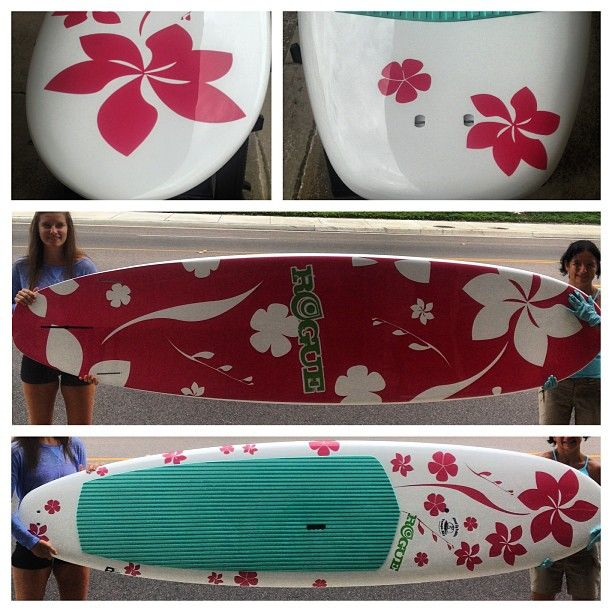 "The Tropical by Rogue. 10' x 30"" x 4.25""; at 22 lbs! An All-Water board designed and shaped to paddle gracefully in flat water and perform equally well in surf up to head high. Shaped with a slight concave in the nose blending to a double barrel concave in the tail."