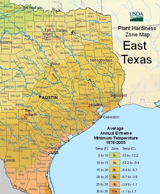 NEW USDA ZONES. Here's The New 2012 Revised Zones With