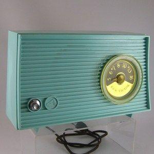 Turquoise Vintage Radio Antique Radio Old Radios