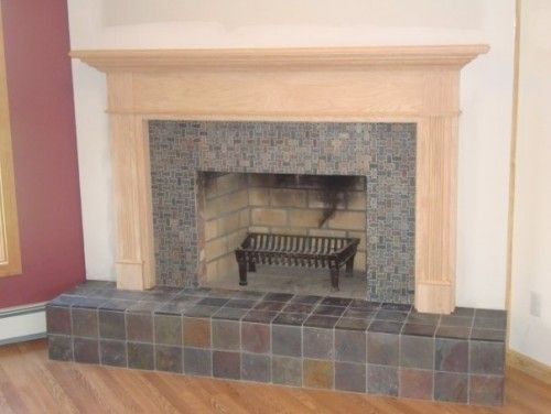 slate fireplace living room tile stone in 2019 slate fireplace rh pinterest com