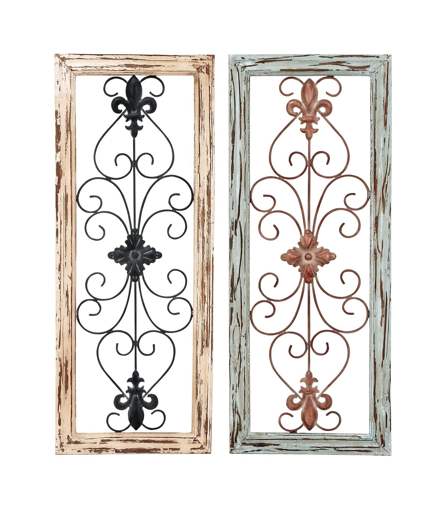Harvey u haley wall panel assorted in abstract design set of