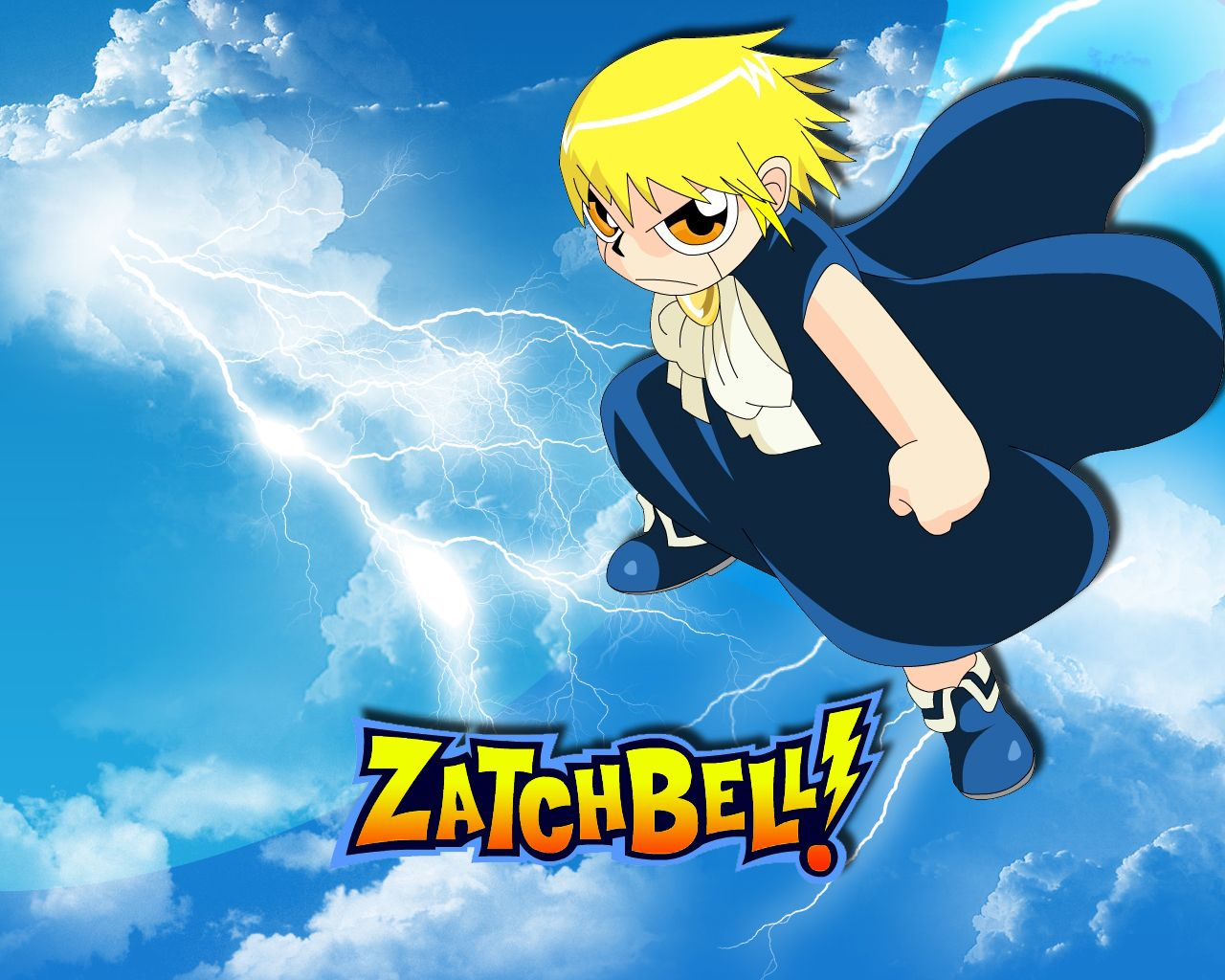 Zatch Bell Hd Wallpaper Download For Desktop Cartoon Wallpapers
