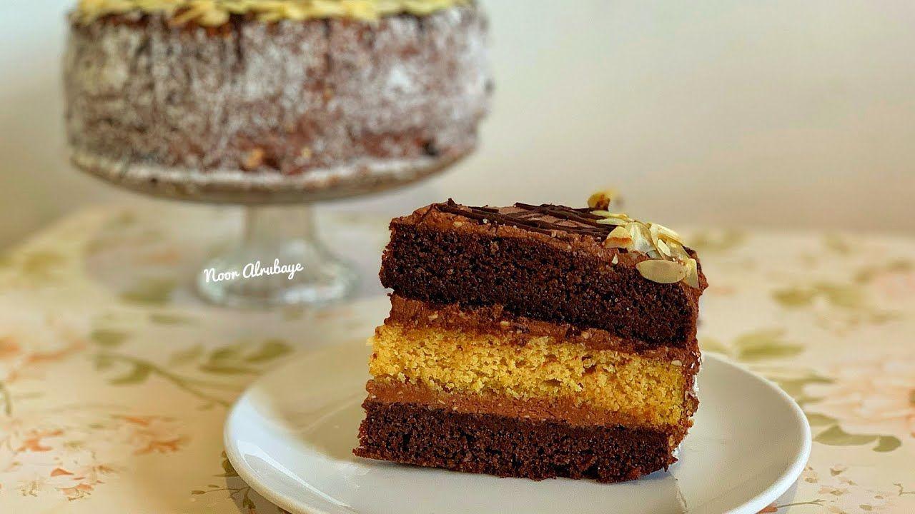 كيكة عيد ميلاد كيتو ٣ طبقات غنية رائعة مذاق فاخر Keto Birthday Cake مرض Desserts Food Vanilla Cake