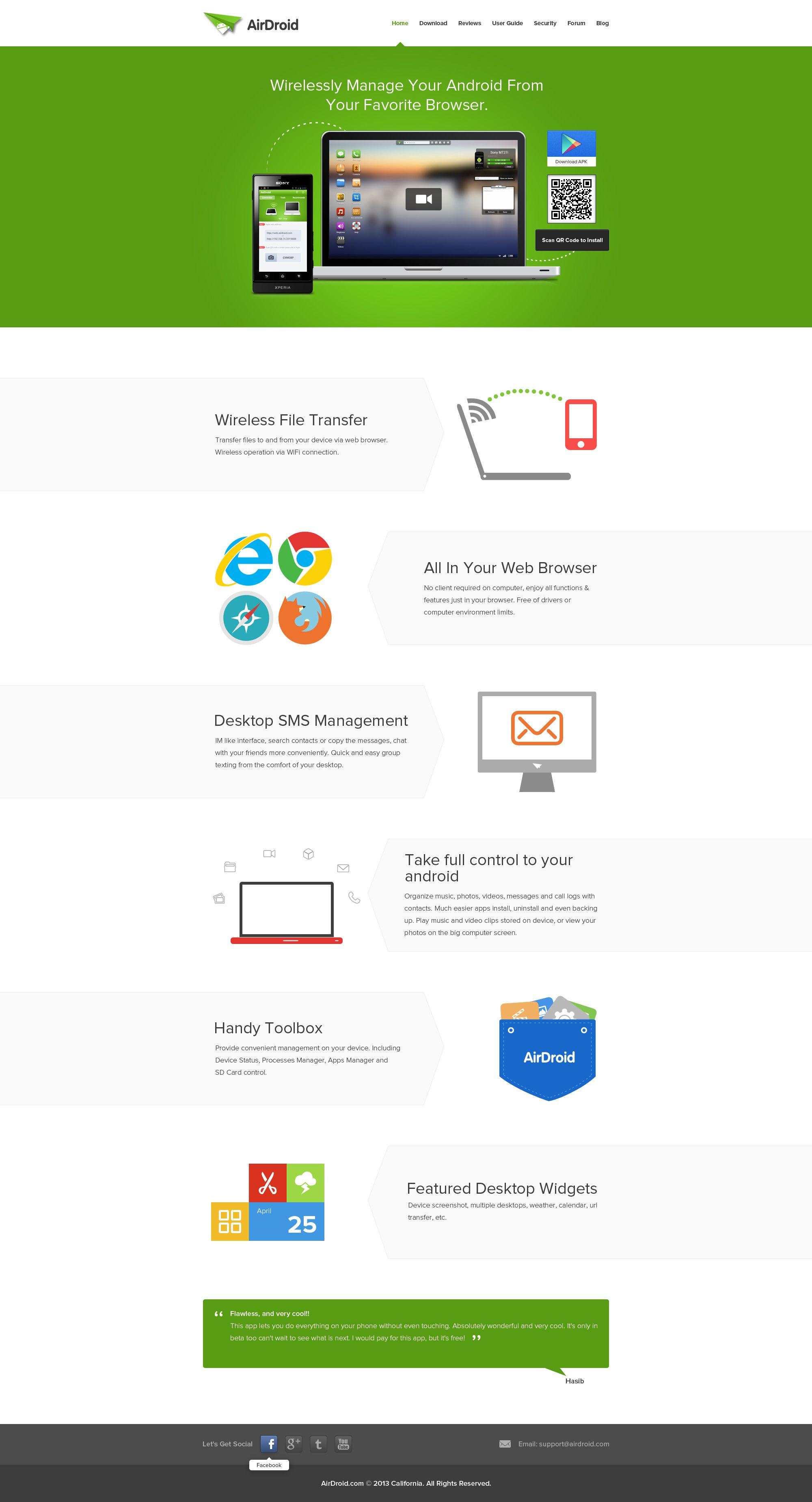 Air Droid Ultra Flat Minimal Web Design Minimal Web Design Minimal Website Design Web Design Gallery