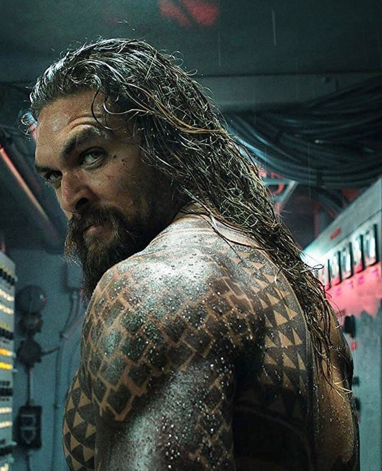 Jason Momoa Comic Con: Permission To Come Aboard....absolutely