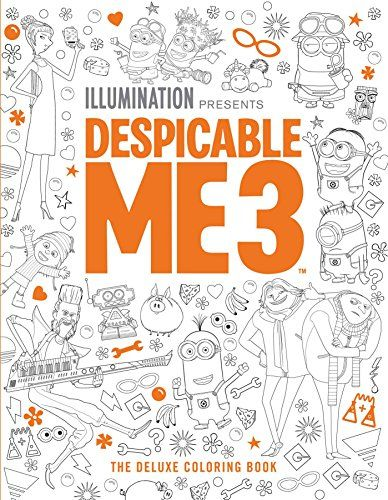 Despicable Me 3 The Deluxe Coloring Book by Insight Editor https