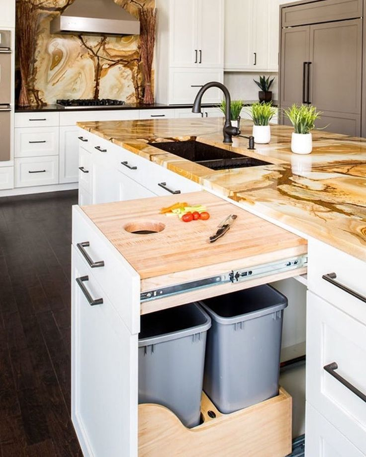 Toronto Ontario Beautiful Luxury Home Interiors Kitchen Bathroom Inspiration Laminate Countertops Butcher Blocks And Roll Out Drawers