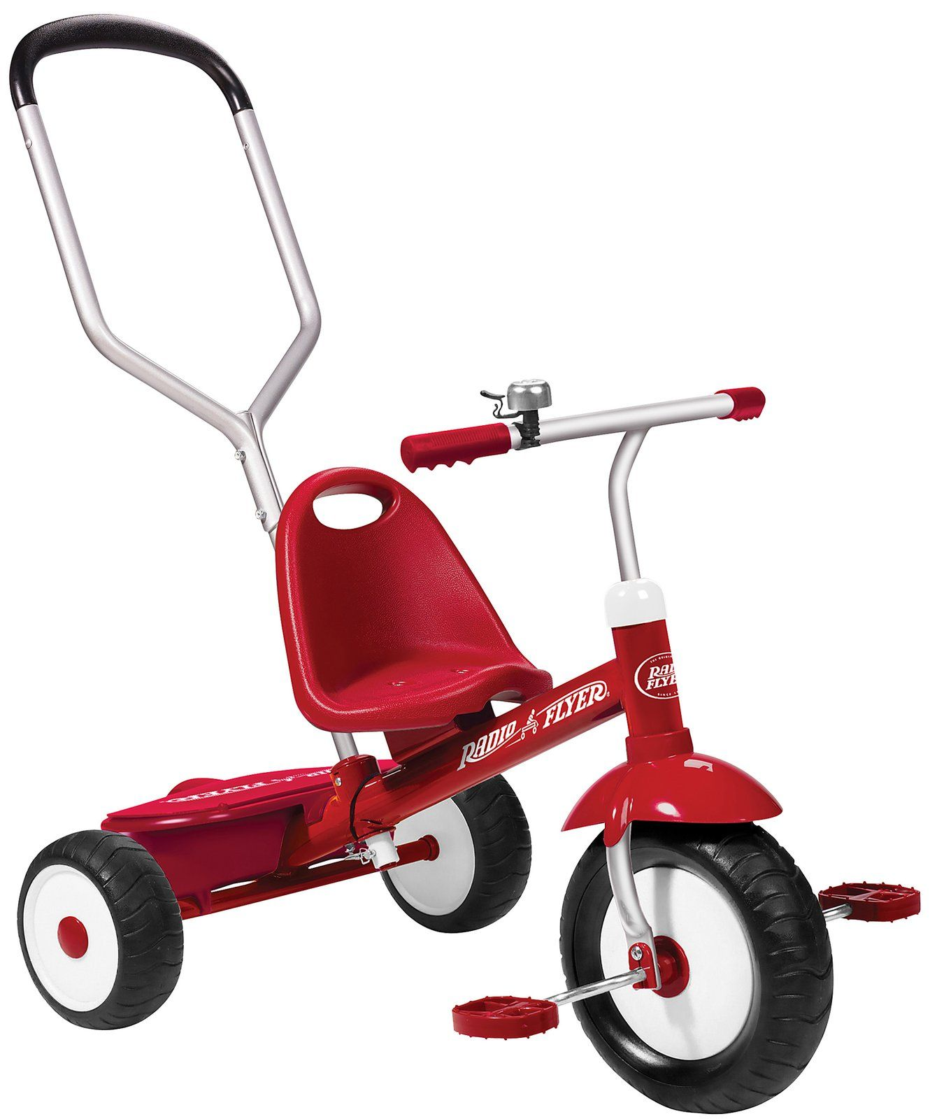 Radio Flyer Deluxe Steer & Stroll Trike Toddler tricycle