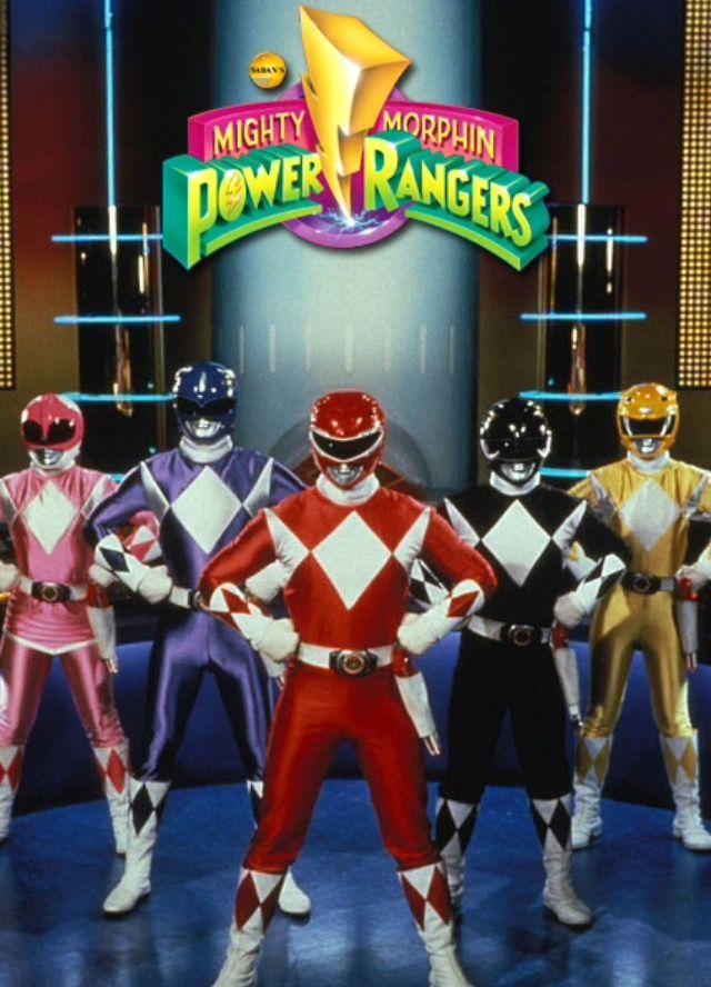 Power Rangers Day : power, rangers, Jude's, Flame, Power, Rangers, Sketch, Collection, Nostalgic, Bookshelf