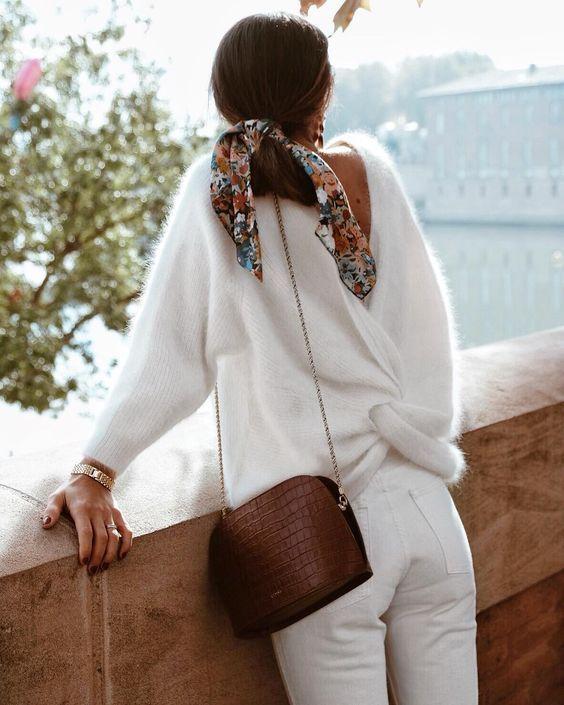 Le total look blanc en hiver - Le Dressing Idéal