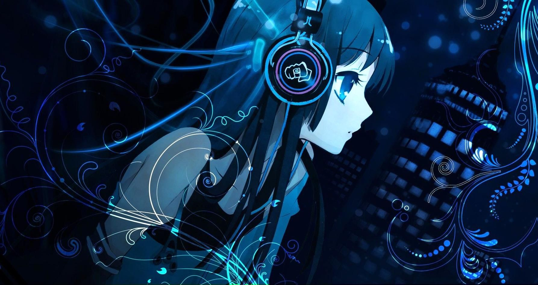 Anime Music Girl Wallpaper in high Quality Anime Wide HD Wallpapers