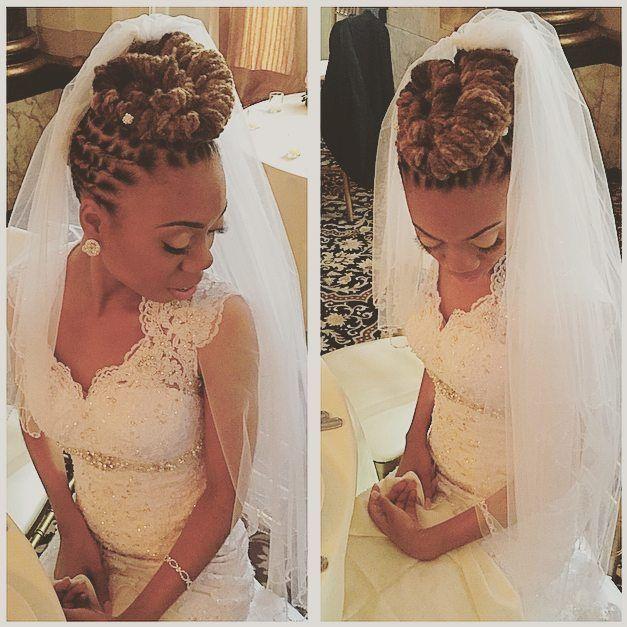 Dreadlock Wedding Hairstyles: Image Result For Wedding Loc Updo Styles