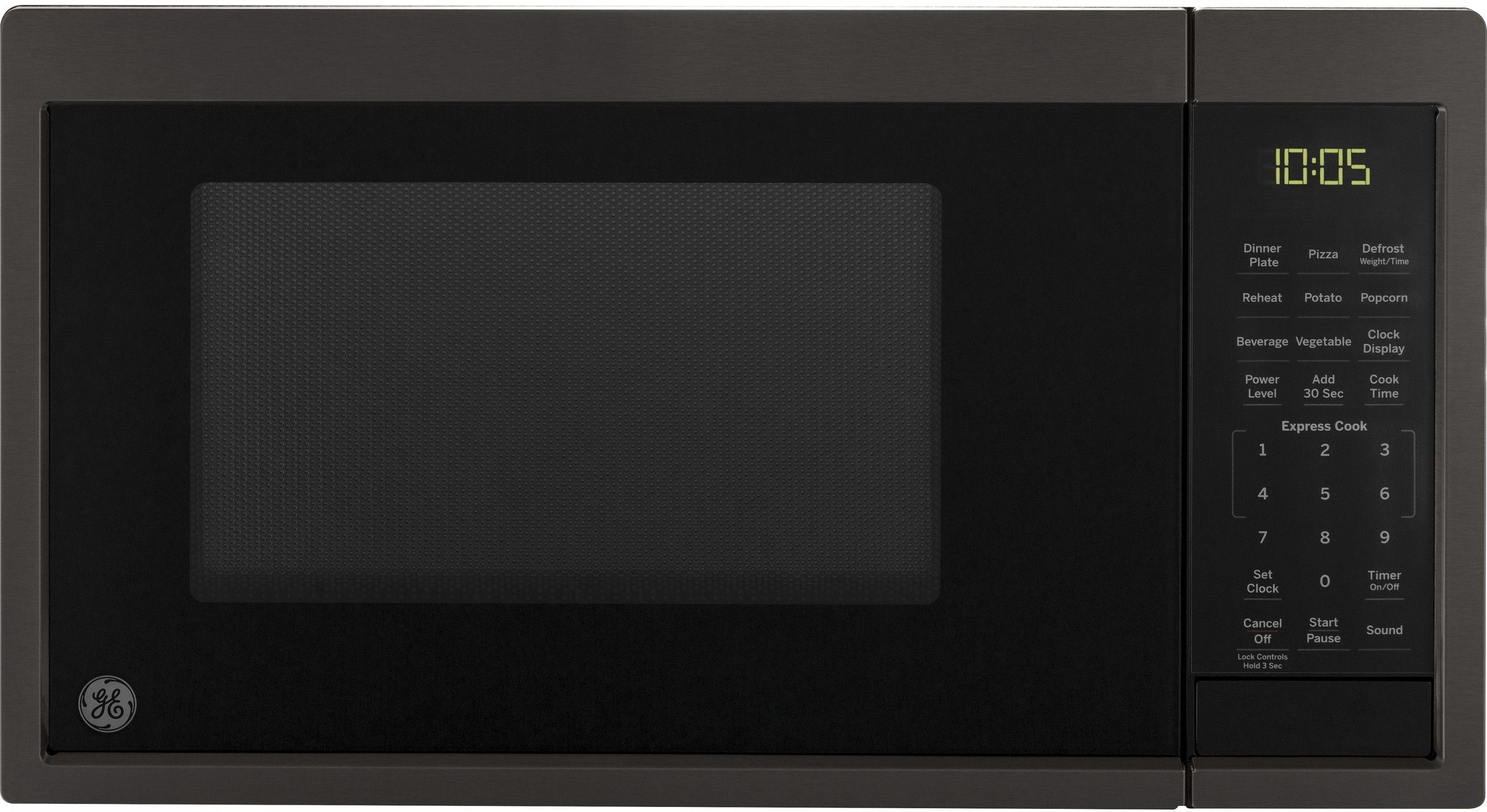 Ge Jes1095bmts Kitchen Timers Countertop Microwave Oven Black