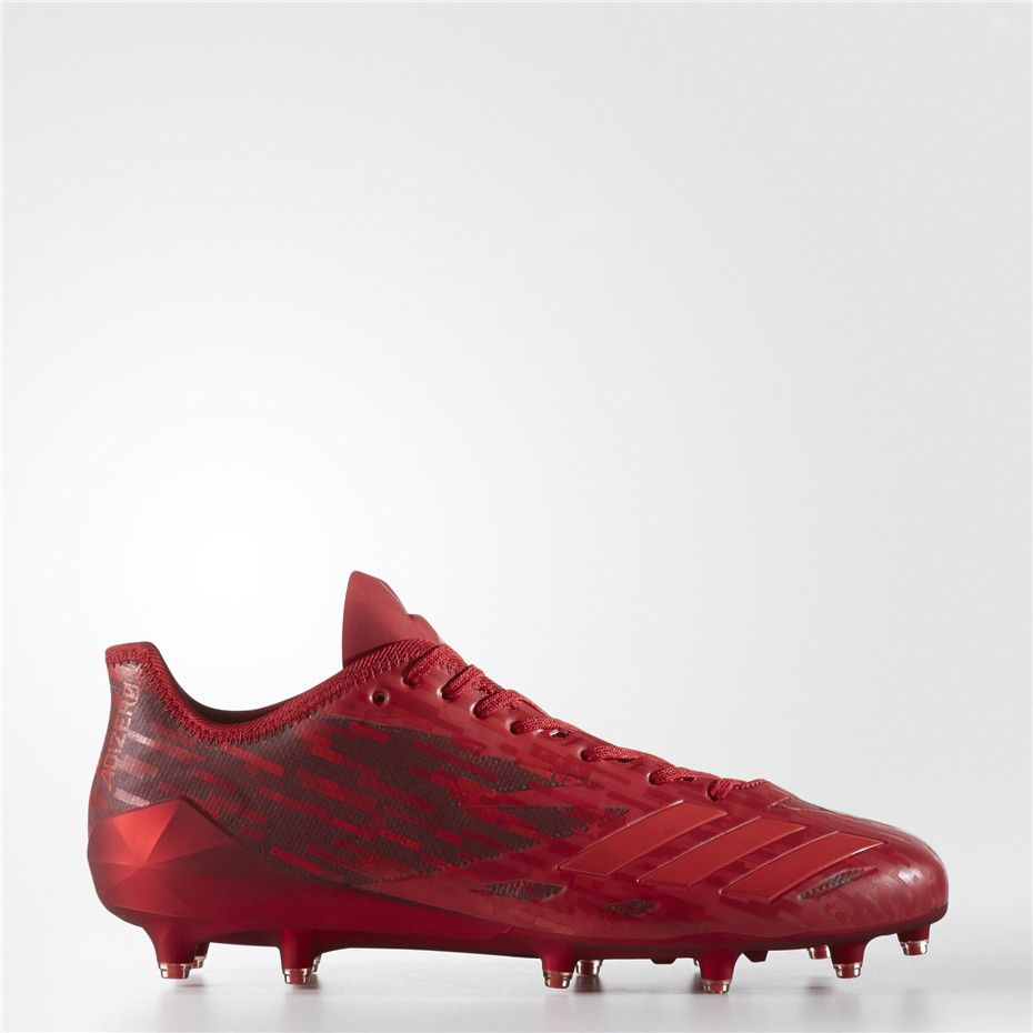 9e0d22e0c82 Adidas adizero 5-Star 6.0 Army Dipped Cleats (Power Red   University Red   University  Red)