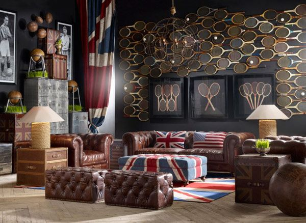 20 Creative And Inspiring Eclectic Vintage Room Designs By Timothy Oulton.  Timothy Oulton Is