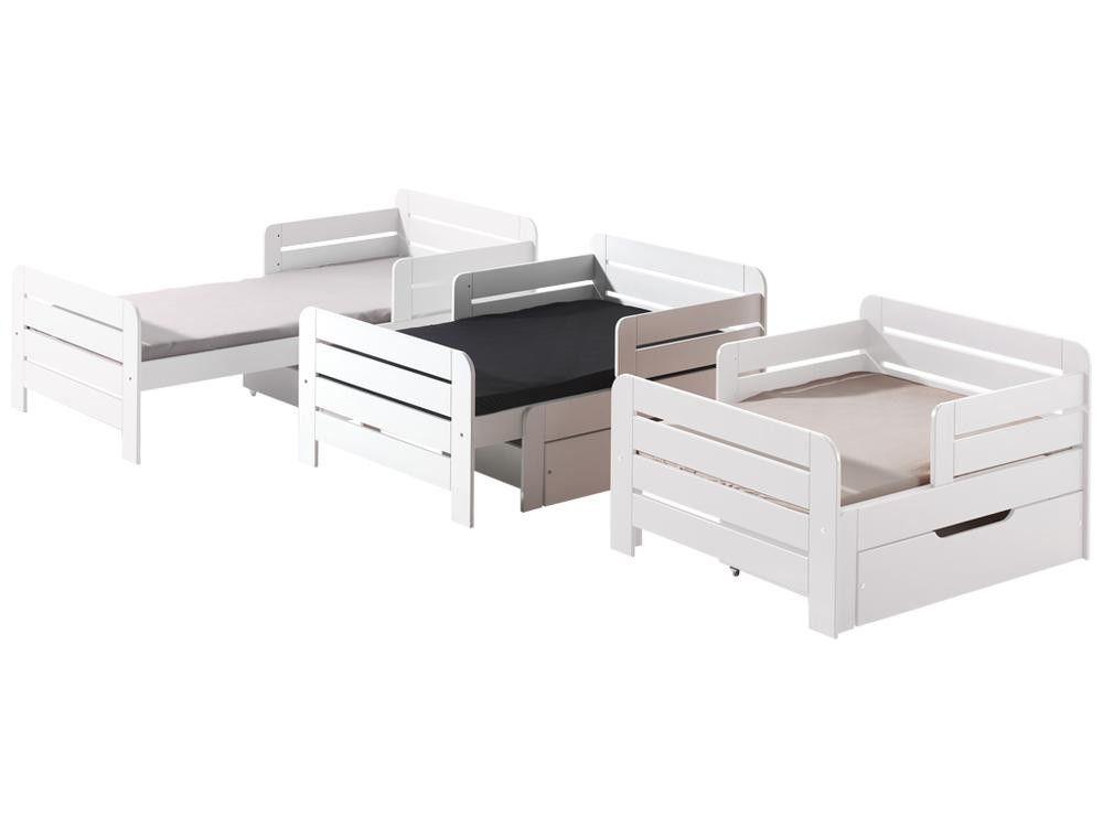 Mitwachsendes Kinderbett Jumper Weiß Kinderzimmer