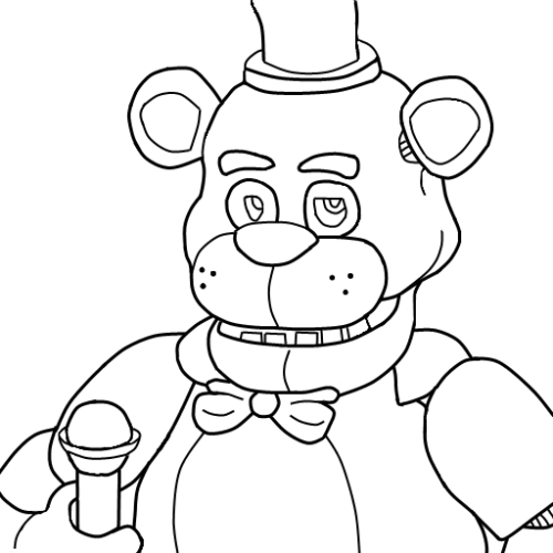 Desenhos Do Jogo Five Nights At Freddy S Para Pintar E Imprimirdesenhos Do Jogo Desenhos Para Colorir Desenhos E Fnaf Dibujos Freddy Para Colorear Dibujos