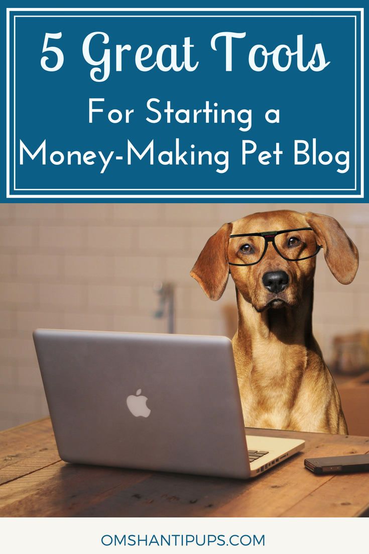 5 Great Tools For Starting A Money Making Pet Blog With Images