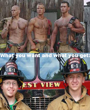 e698a3a87c2a3c6cd9be8dd774cbd9fd guy meme firefighters firefighter, meme and expectation vs reality