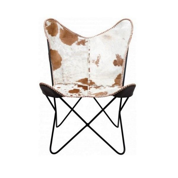 fauteuil butterfly en v ritable cuir bohemian interior fauteuil fauteuil salon. Black Bedroom Furniture Sets. Home Design Ideas