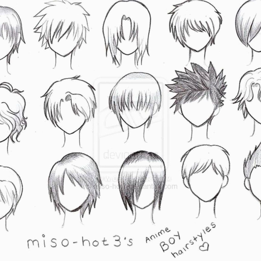 Anime Hairstyles Men 2019 (With images) Anime boy hair