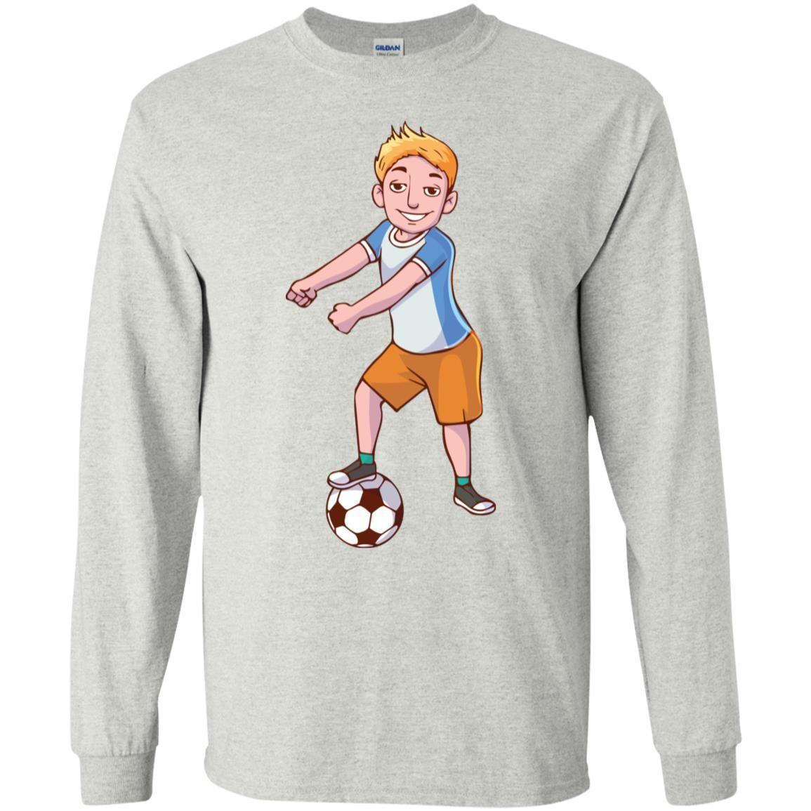 Floss Like A Boss Soccer Long Sleeve T Shirt Boys Girls Men Women Kids Youth Guys And Girls Long Sleeve Tshirt Long Sleeve [ 1155 x 1155 Pixel ]